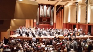Spectacular Benaroya Symphony Hall, donated by one of Seattle's prominent Sephardic families.