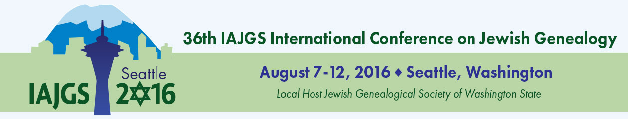 IAJGS Conference Online Family Finder | IAJGS 2016